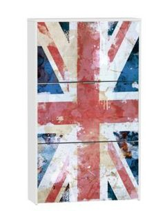 For home on pinterest union jack vespas and bicycles - Zapateros en conforama ...