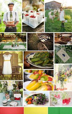 Farm to Table Wedding -- www.thesimplifiers.com