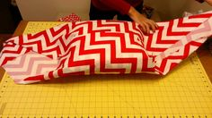 This is the Stitch and Sew Studio bringing you a tutorial on fabric wrapping using the no sew pillow sham technique. Have fun! Check out our blog at www.burs...
