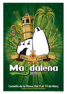 2010 - Cartel Fiestas de la Magdalena de Castellón de la Plana