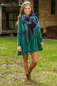 By The Fireside Dress-Bayou - All Dresses | The Red Dress Boutique