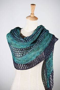 Ravelry: On the Road shawl pattern by Janina Kallio