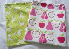 Kid's Wash Bag Tutorial - great if your kids stay over at friends houses and need a toothbrush, toothpaste, facecloth etc