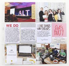 Ali Edwards   Blog: Project Life® 2015   Week Three