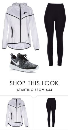 """""""when the sky is falling I'll be standin right next to you"""" by haileyhoksbergen on Polyvore featuring NIKE"""
