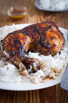 Kuře včesnekovo-pomerančové marinádě Tandoori Chicken, Garlic, Good Food, Turkey, Meat, Orange, Ethnic Recipes, Turkey Country, Healthy Food
