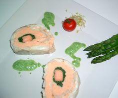 Roulé de sandre à la mousseline de saumon - La cuisine de Mercotte !
