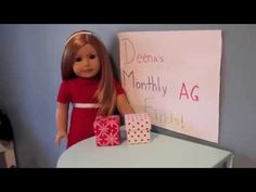 Deena's Monthly American Girl Doll Finds-Holiday Edition! - YouTube