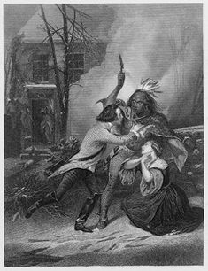 The Cherry Valley massacre was an attack by British and Iroquois forces on a fort and the village of Cherry Valley in eastern New York on November 11, 1778, during the American Revolutionary War. It has been described as one of the most horrific frontier massacres of the war.[1] A mixed force of Loyalists, British soldiers, Seneca and Mohawks descended on Cherry Valley During the raid, the Seneca in particular targeted non-combatants,