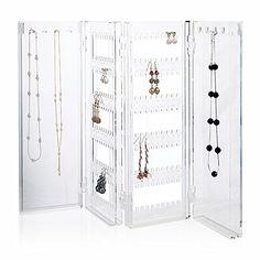 Amazoncom Misslo Jewelry Hanging NonWoven Organizer Holder 32