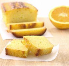 Ricotta Orange Pound Cake - an incredibly moist cake bursting with fresh orange flavor | Kristine's Kitchen