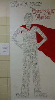 Imagine It Open House idea? = The students of Becker Intermediate helped create this superhero by writing who their hero is. Superhero Classroom Theme, Classroom Themes, Superhero Ideas, Back To School Superhero, Superhero Writing, Superhero Bulletin Boards, Superhero Art Projects, Classroom Incentives, Classroom Displays