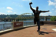 Pittsburgh - PNC Park: Bill Mazeroski statue by wallyg, via Flickr