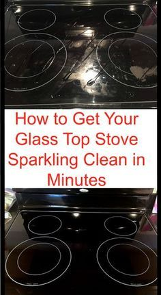 to Get Your Glass Stovetop Sparkling Clean in Minutes Cleaning hack to clean your glass stove in just a few minutes.Cleaning hack to clean your glass stove in just a few minutes. Household Cleaning Tips, Deep Cleaning Tips, Toilet Cleaning, Cleaning Recipes, House Cleaning Tips, Natural Cleaning Products, Cleaning Solutions, Household Cleaners, Cleaning With Baking Soda