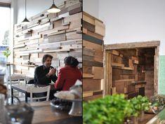 Slowpoke Espresso Cafe by Anne Sophie Poirier, Fitzroy, Australia store design eco