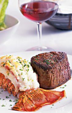 mignon and lobster for dinner  mmmmmmmm.............