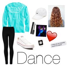 """Going to a dance tonight!❤️😉"" by emily-wollan on Polyvore featuring Vineyard Vines, Wolford, Chanel and Converse"