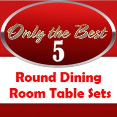 Looking at round dining room table sets? Wondering if this type of dining room set is the right one for you and your family? Round dining room tables can be elegant, casual, traditional or ultra-modern.