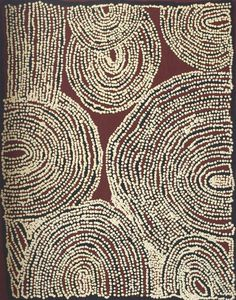 Artlandish Aboriginal Art Gallery would like to showcase this fine Aboriginal painting  by Esther Giles Nampitjinpa / Untitled is the title of the work. Click the image   to view more images and information on this piece and over 1000 other paintings from many of the best Aboriginal artists from Australia.   Thanks for viewing and have a great day!