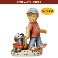 M.I. Hummel Calendar Figurines - July