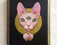 ☆ Cat art sphinx☆