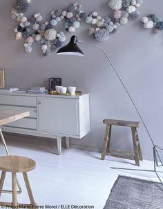 Guirlande décorative  - Chez Marie-Sixtine, un lieu privé et fashion  - Elle Décoration