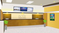 Actis provides Digital Signage solutions to its clients. These deliver powerful visual and multimedia advertising. They work on a central display of control and can send different content to different displays through the same server.