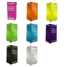 NEW 4 Drawer Tool Storage Cart Rolling Cabinet Box Chest Trolley Salon Kitchen