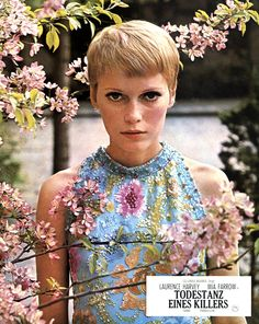 Mia Farrow in a still from 'A Dandy in Aspic'