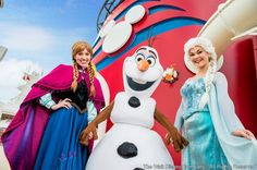 """No verão do hemisfério norte em 2015, os passageiros de Disney Cruise Line ganham mais atrações a bordo dos cruzeiros Disney. A partir de experiências inspiradas no sucesso de """"Frozen"""", eles vão poder aproveitar uma festa temática, cantar junto durante um pocket show, se divertir..."""