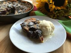 French Clafoutis Bla