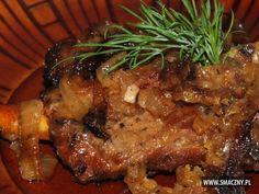 Żeberka w miodzie i musztardzie Steak, Food And Drink, Pork, Poland, Recipes, Diet, Kale Stir Fry, Pigs, Recipies