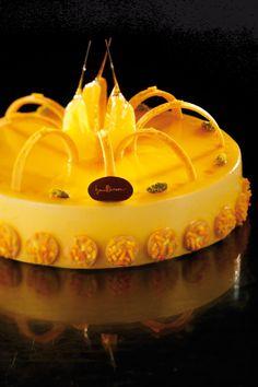 Orange tart by Iginio Massari
