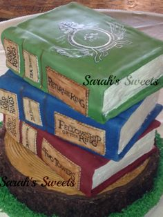 Lord of the Rings Wedding Cake by Sarah's Sweets