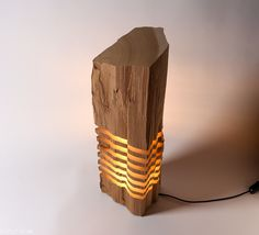 Cedar Light Sculpture | Stand Alone                                                                                                                                                                                 Mais