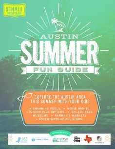 Austin Summer Fun Guide, 2015