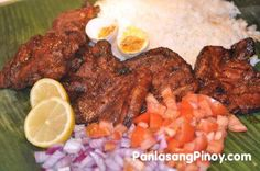 Filipino BBQ Pork Chop is my definition of a good grilled pork chop. This has an awesome taste which you will find interesting. It goes well with rice along with some salted eggs and Filipino salad (ensalada).