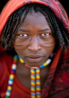 Africa | An Afar woman, Ethiopia | ©Eric Lafforgue