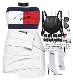 """Gonna make a Instagram account & post my sets on there also."" by idcmyaa ❤ liked on Polyvore featuring Jacquemus, Tommy Hilfiger, Maison Margiela, Monki and Susquehanna Glass"