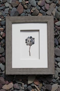 Love this, but would be tempted to try #DIY first. // Apple Tree, Pebble Art of Nova Scotia by Sharon Nowlan