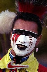 native american face paint women | What are some traditional Native American face paint disigns?