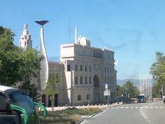 Olympic stadium, Barcelona, Spain.