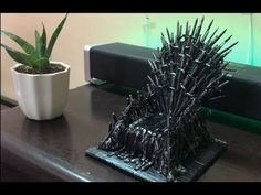 DIY The Iron Throne with Clay - YouTube