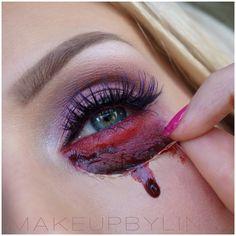 Creepy makeup
