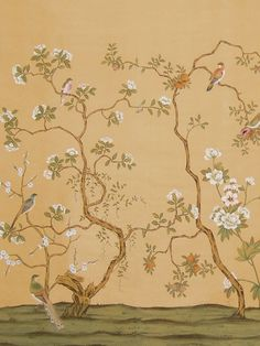 I love chinoserie wallpaper, I just love it!