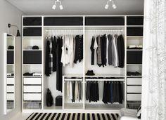 Dressing IKEA wardrobe Forum mode homme de Comme un camion Pax Wardrobe Planner, Ikea Pax Wardrobe, Open Wardrobe, Ikea Closet, Bedroom Wardrobe, Wardrobe Ideas, Pax Planner, Closet Ideas, Closet Small