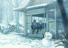 Natsume Yuujinchou (Natsume's Book Of Friends ) - Yuki Midorikawa - Image - Zerochan Anime Image Board Anime Nerd, Anime Manga, Natsume Takashi, Cool Anime Pictures, Hotarubi No Mori, Natsume Yuujinchou, Friends Image, Manga Illustration, Stay Warm