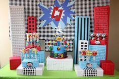 "Photo 1 of 20: Super Heroes / Birthday ""Marvelous Superhero Birthday""   Catch My Party"