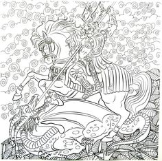 32 Best Fantasy Coloring Book Pages For Adults Images Coloring