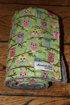 owl baby blanket on esty!